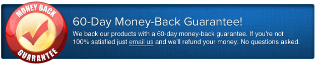60-day Money-Back Guarentee!