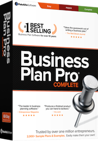 Business Plan Pro box shot