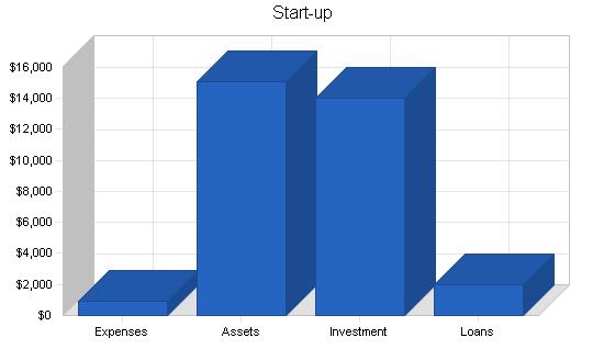 Business analysis publishing business plan, company summary chart image