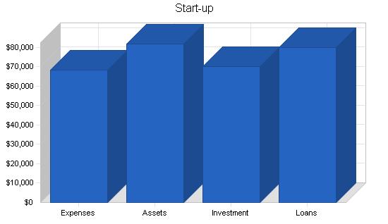 Childrens play program business plan, company summary chart image