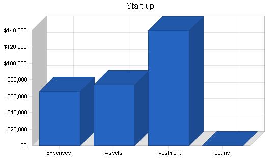 Maternity clothing business plan, company summary chart image