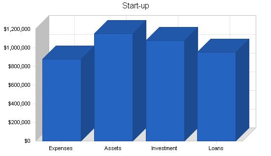 Print shop website business plan, company summary chart image