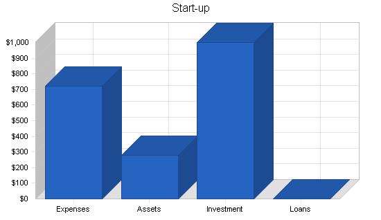 Soho computer consulting business plan, company summary chart image