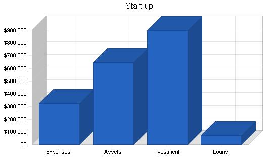 Steak restaurant business plan, company summary chart image