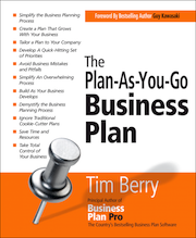 plan as you go business plan book